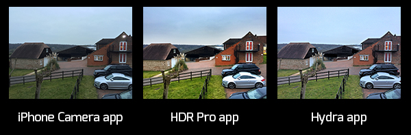 HDR Photo comparisons