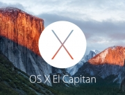 release of OS X El Capitan