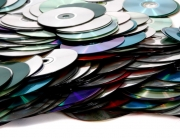 pile of cd's and dvd's