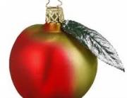 Christmas Apple bauble
