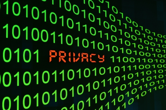 Privacy hidden in binary data