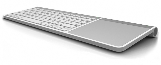 Henge Clique keyboard and trackpad connector