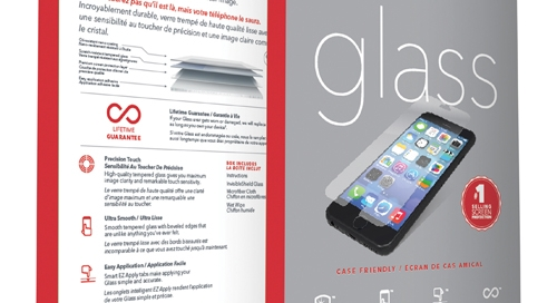 Zagg Invisible Shield glass screen protector