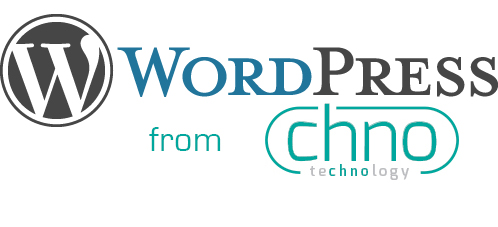 Wordpress hosting from CHNO Technology logo